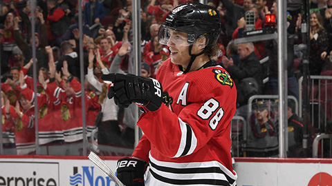 Patrick Kane (© Bill Smith/NHLI via Getty Images)